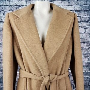 Sak's Fifth Avenue Vintage Camel Hair Coat Size 14
